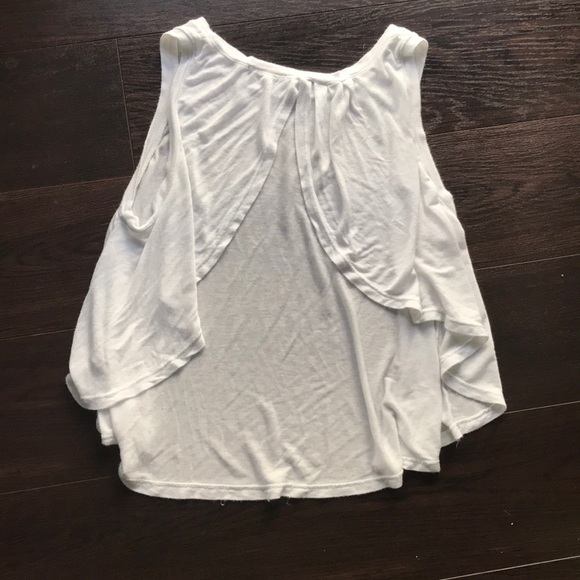 Brandy Melville Tops - Brandy Melville White open back top - One Size
